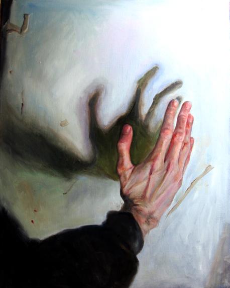 Elena Caravela: hand painting