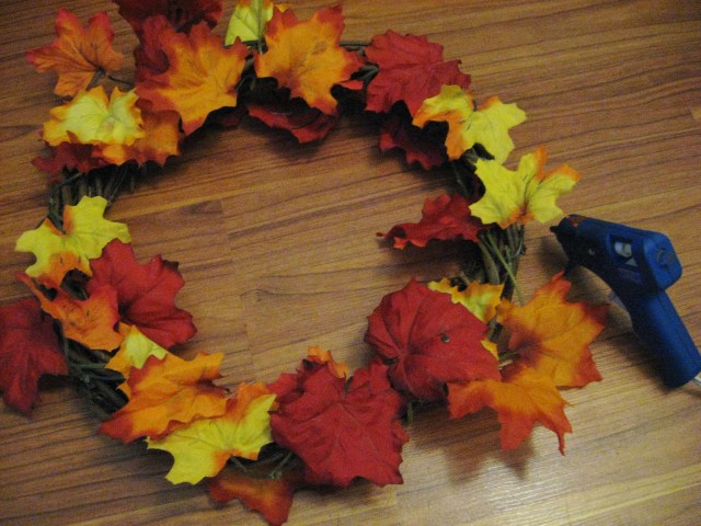 autumn leavesfor fall wreath