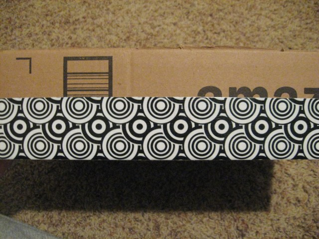 Duct Tape decorated storage box