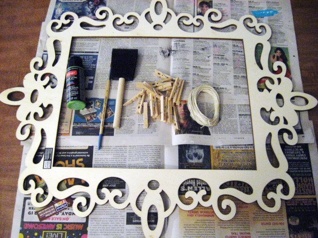 materials for photo frames