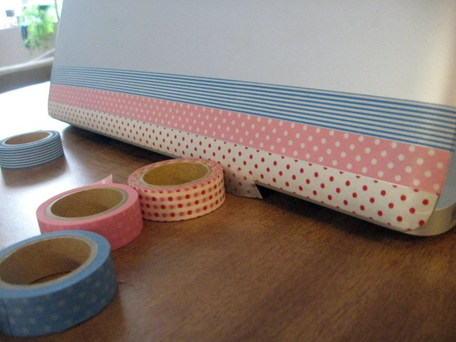 Washi Tape laptop skin