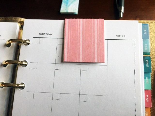 DIY magnetic bookmarks for planners