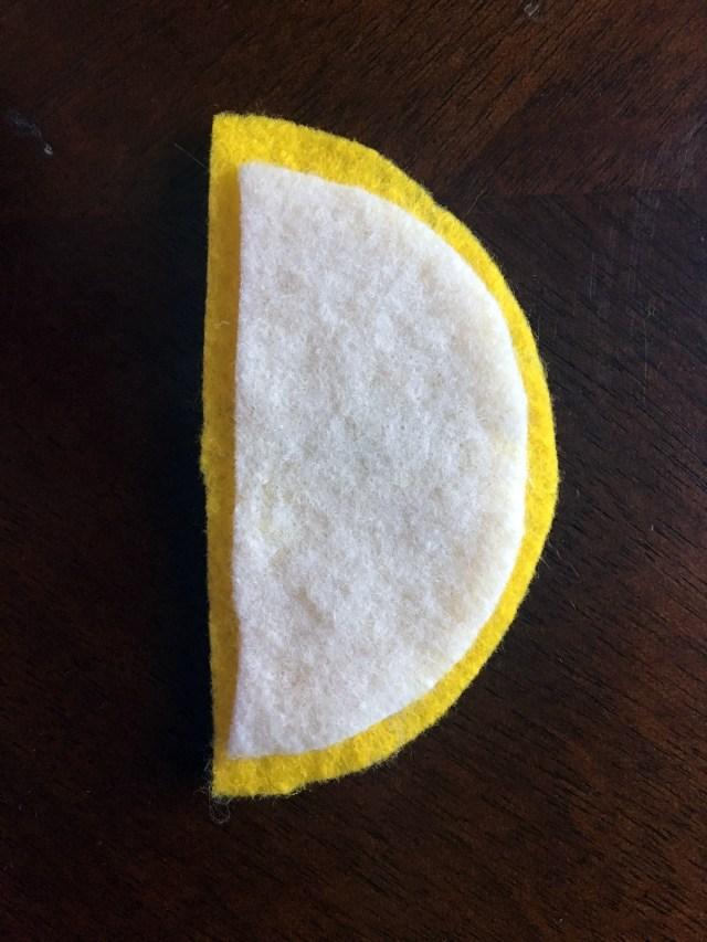 felt lemon in-progress