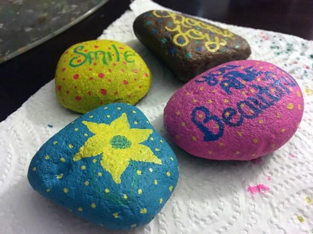 joy rocks craft