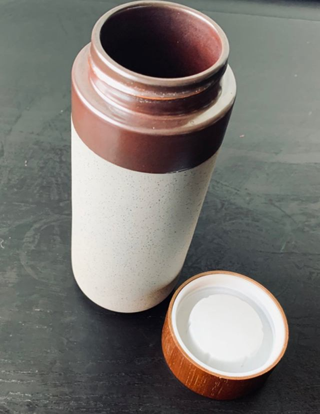 ceramic travel tumbler gift idea