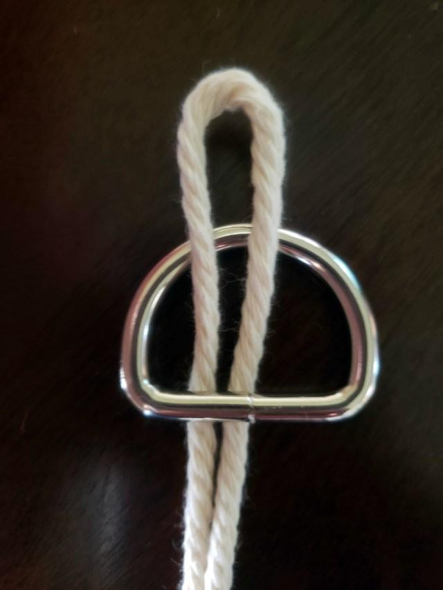 craft rope loop step 1
