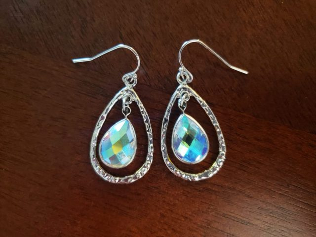 homemade dangle earrings