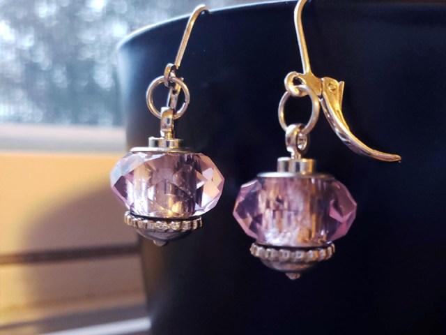 diy interchangeable beaded earrings