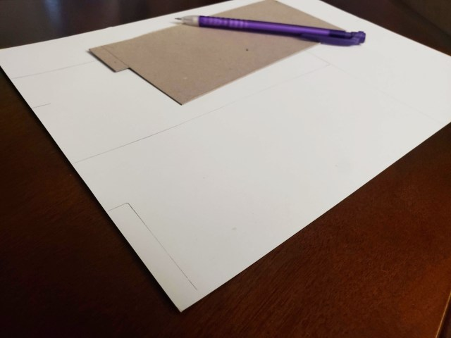 scrapbook paper planner divider cover