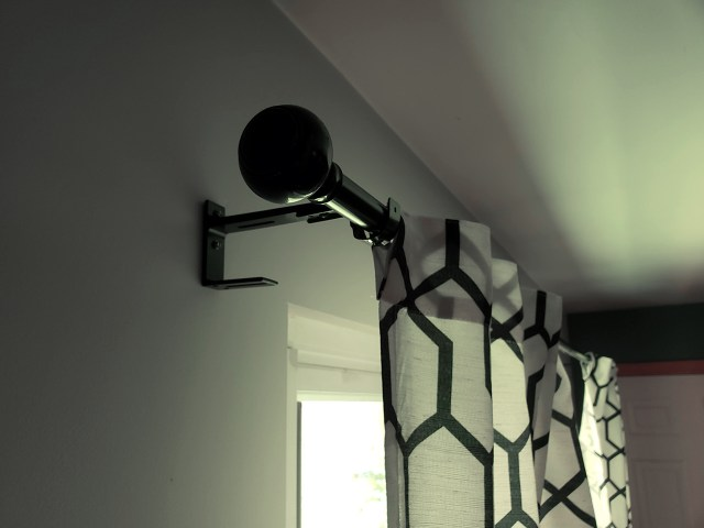 diy curtain rod updates