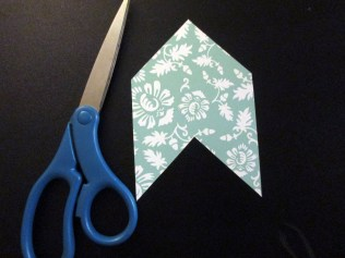 scrapbook paper bookmark template