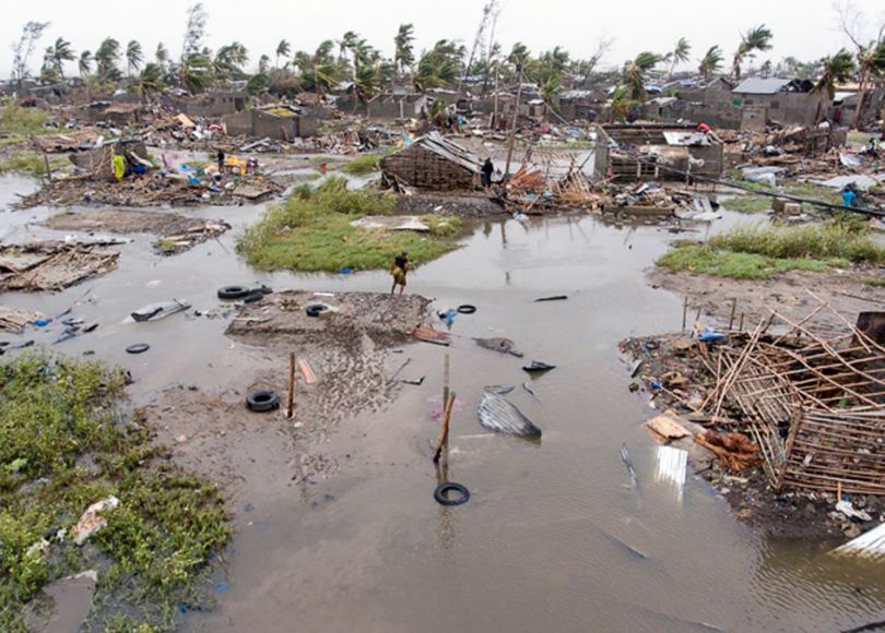 Mozambique Cyclone IDAI, CNN