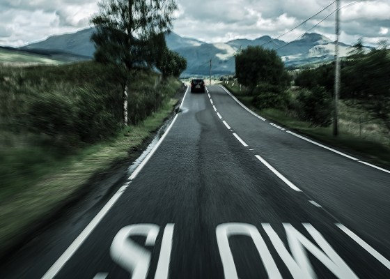 Slowing Down, Photo by Erik Nielsen on Unsplash
