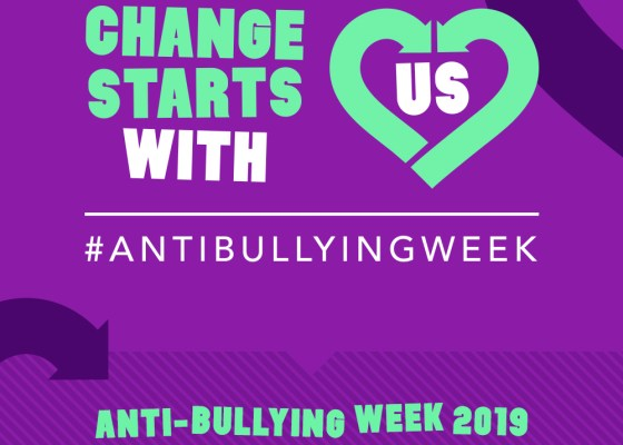 Change Starts With Us, Antibullying Week