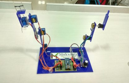 self learning robotic arm front