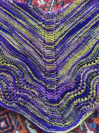 Mom's shawl, detail