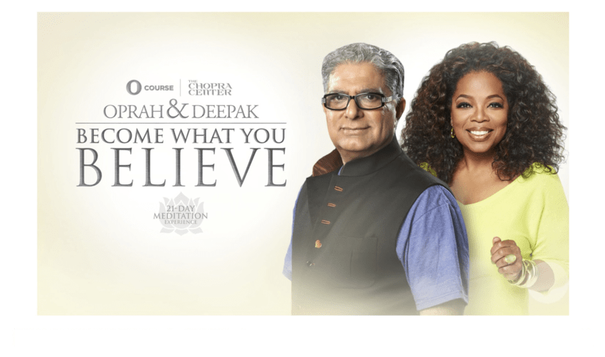 Day 75: Meditating with Oprah and Deepak