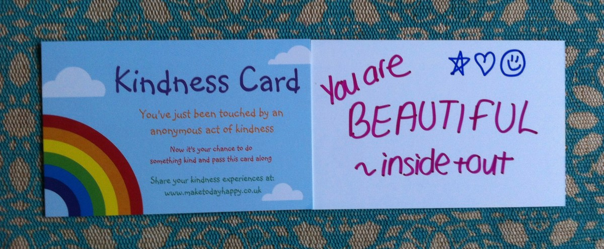Day 95: Kindness trail