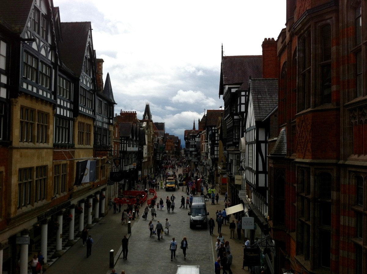 Being grateful for the opportunity to explore lovely Chester