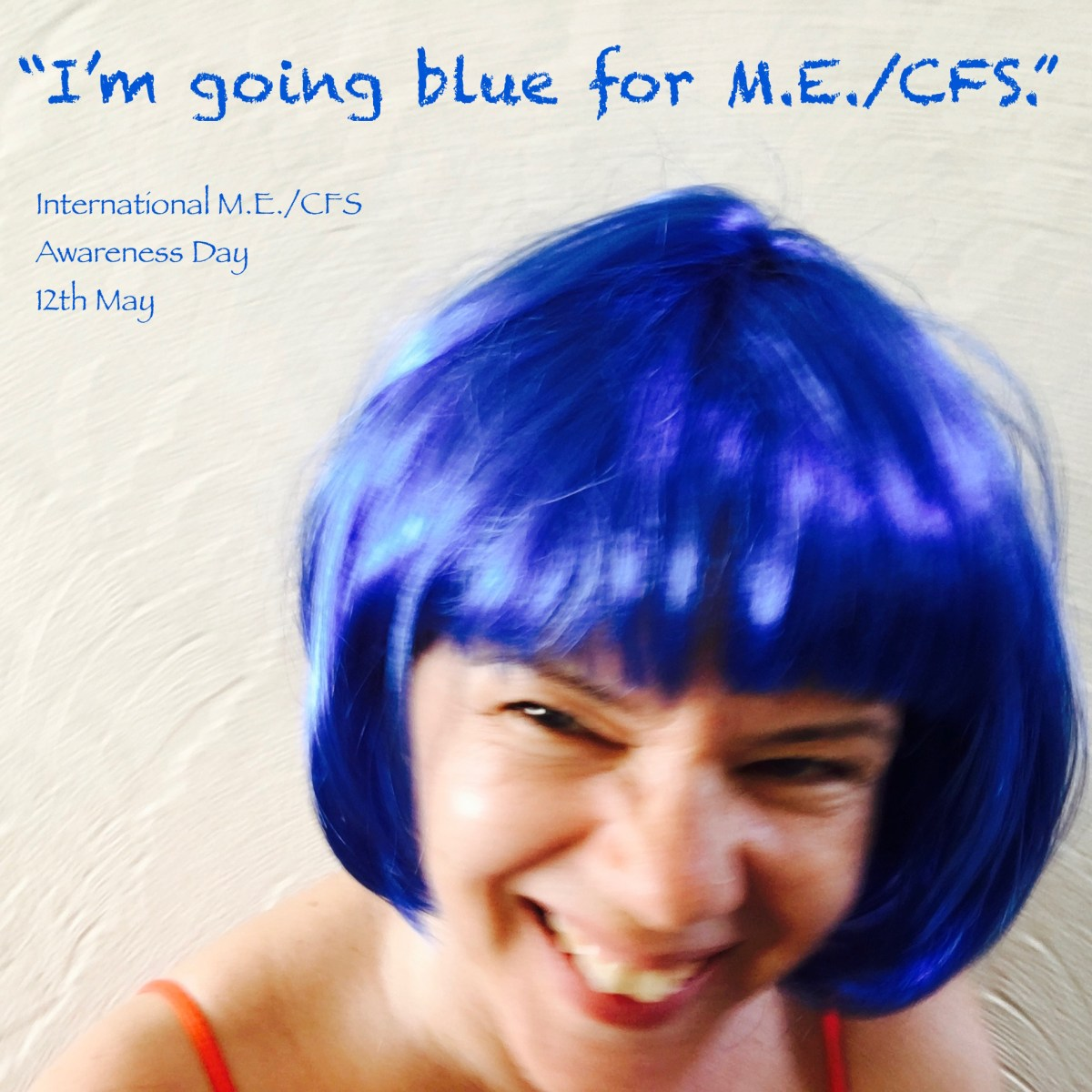Going blue for M.E./CFS