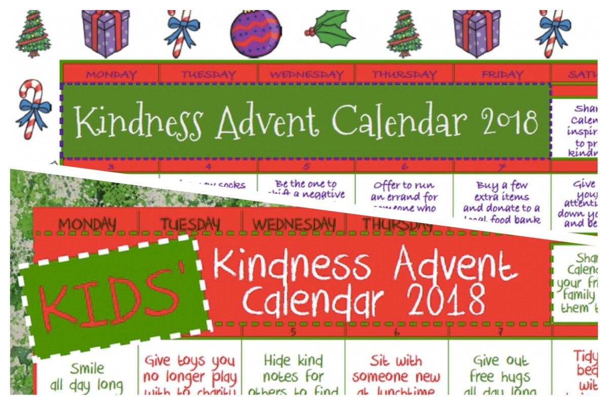 Kindness Advent Calendar: December 2018