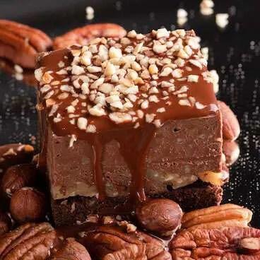 Ferrero Pecan Slice