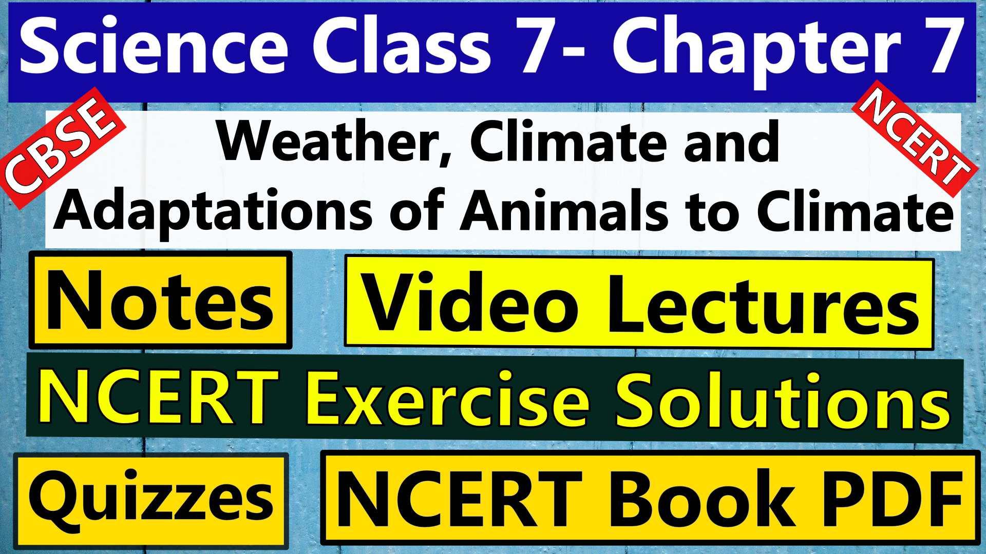 Science Class 7