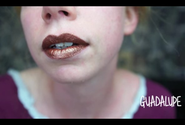 LASplash Metallic Matte Lipstick Guadalupe
