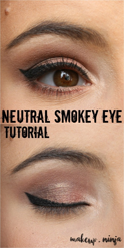 Orange Eyeshadow Smokey Eye Makeup Tutorial