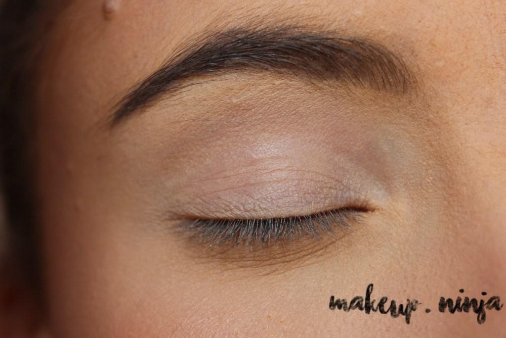 Neutral Smokey Eye Look with Orange Eyeshadow - Step 1
