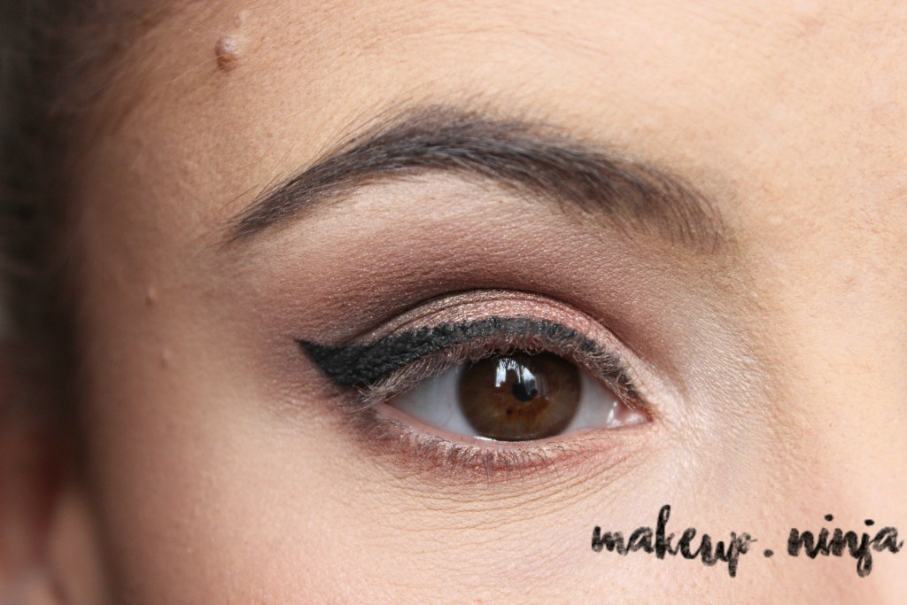 Neutral Smokey Eye Look with Orange Eyeshadow - Step 11