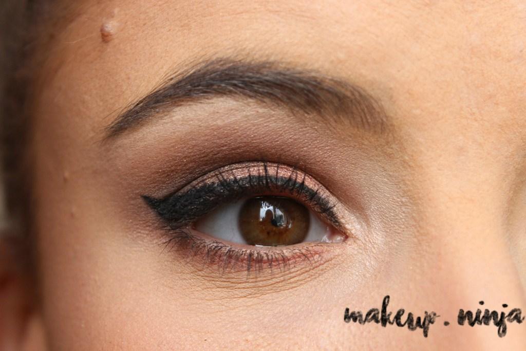 Neutral Smokey Eye Look with Orange Eyeshadow - Step 12