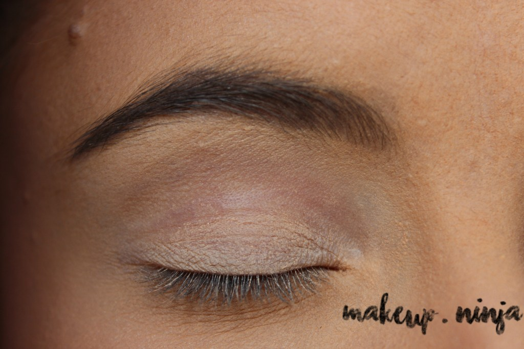 Neutral Smokey Eye Look with Orange Eyeshadow - Step 2