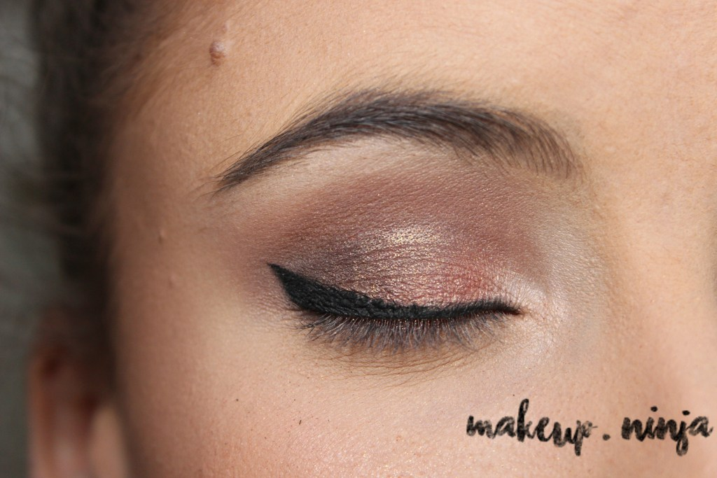 Neutral Smokey Eye Look with Orange Eyeshadow - Step 9