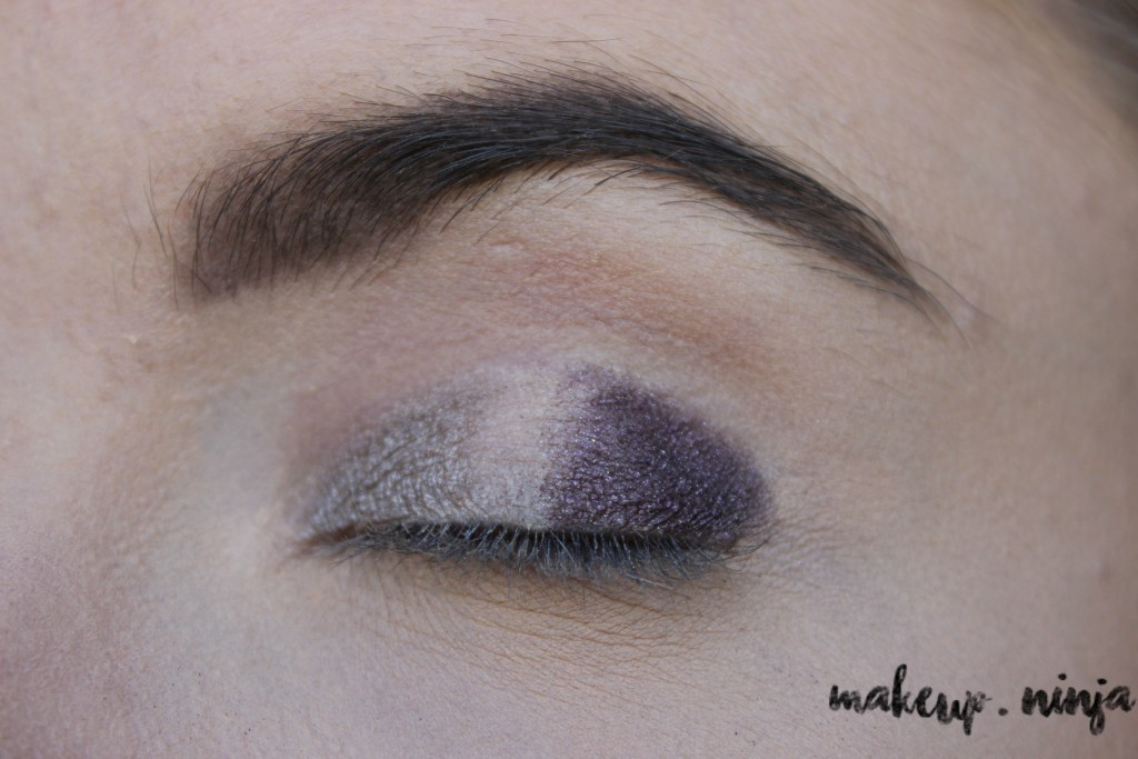 step 4 - Lilac Eyeshadow Tutorial for Spring
