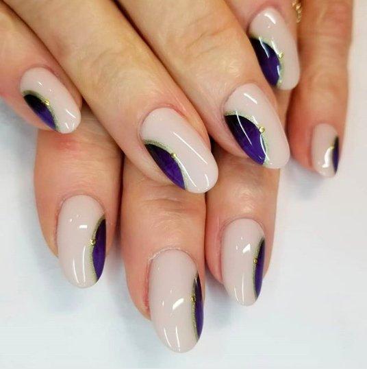 горизонтальные лунки на ногтях