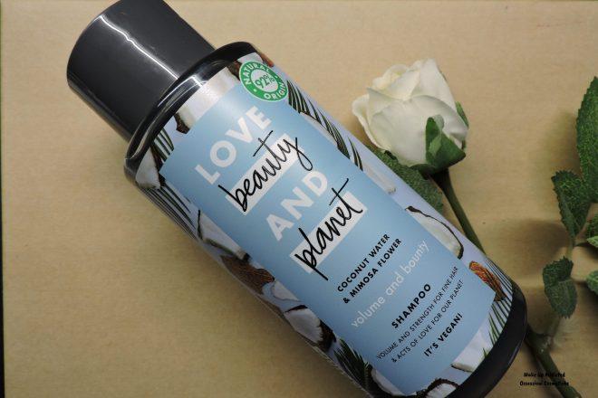 love beauty and planet shampoo volumizzante