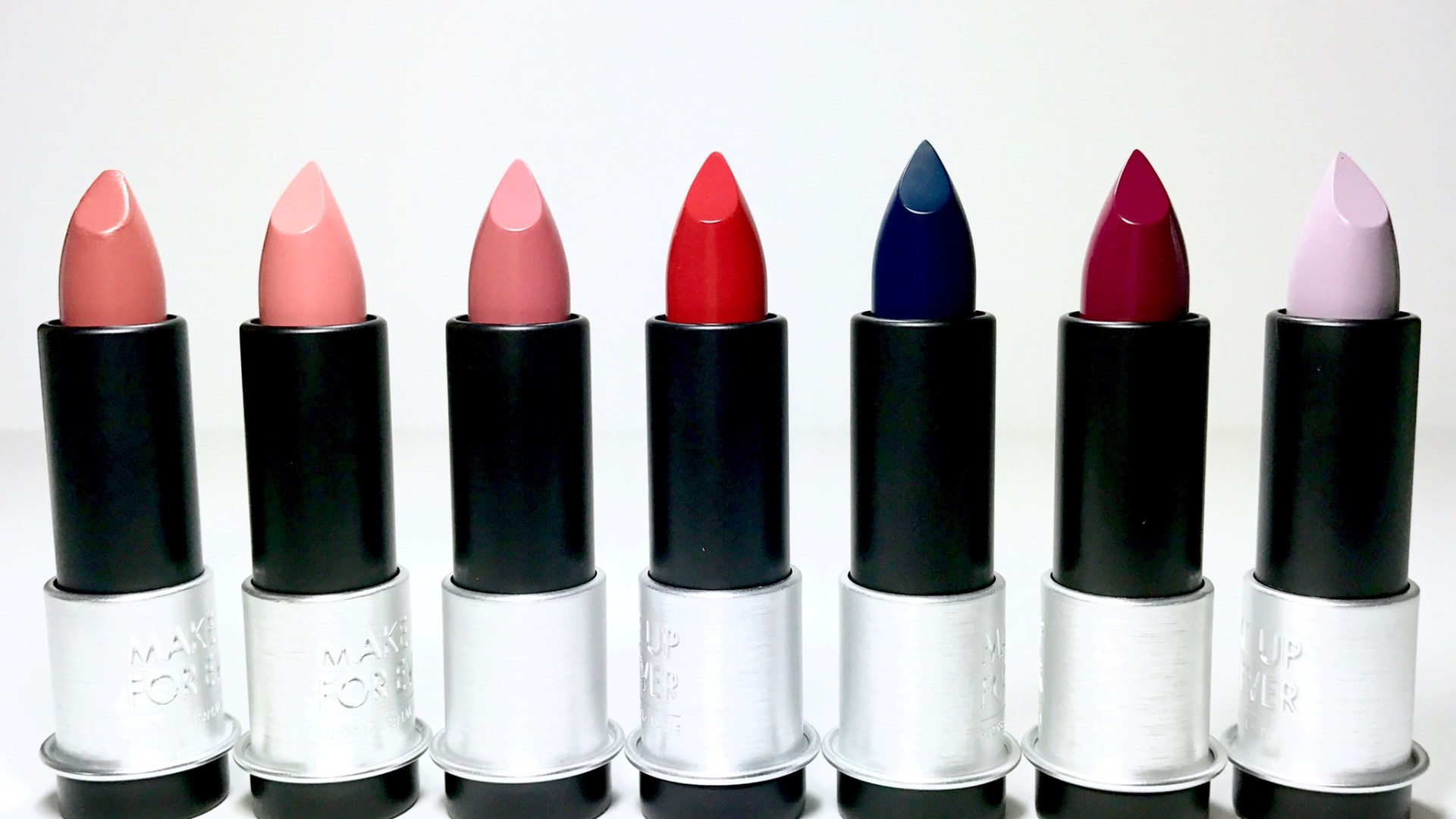 Make Up For Ever Artist Rouge Lipsticks | Review & Swatches