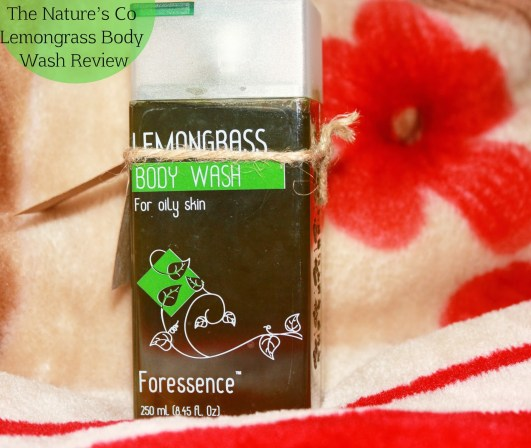 The Nature's Co Lemongrass Body Wash Review