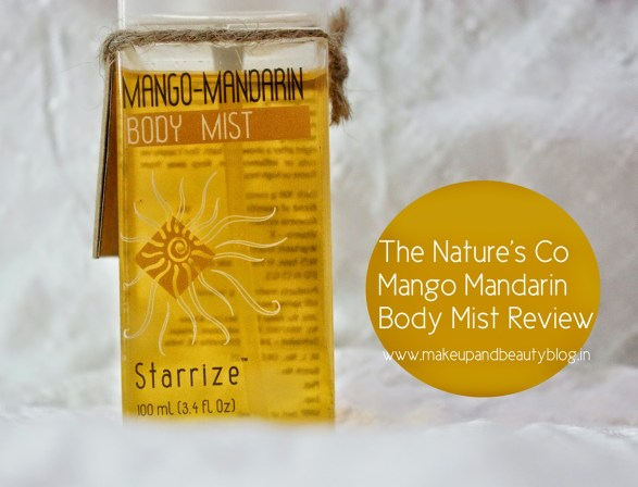 The Nature's Co Mango Mandarin Body Mist Review