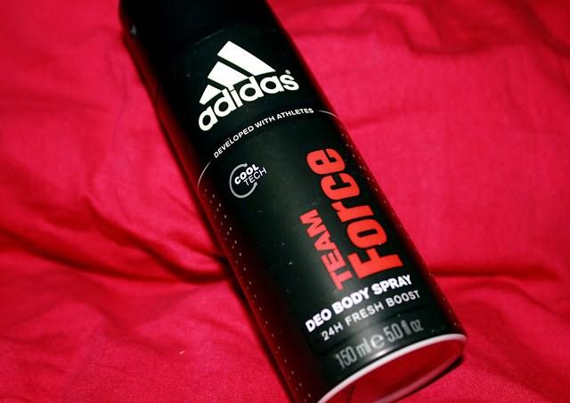 Adidas Team Force Deo Body Spray For Men Review