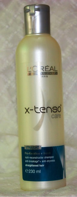 L'Oreal Professionnel X-Tenso Care Straight Nutri-Reconstructor Shampoo Review