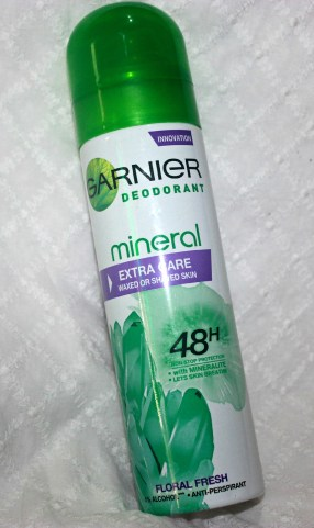 Garnier Mineral Deodorant- Extra Care: Review
