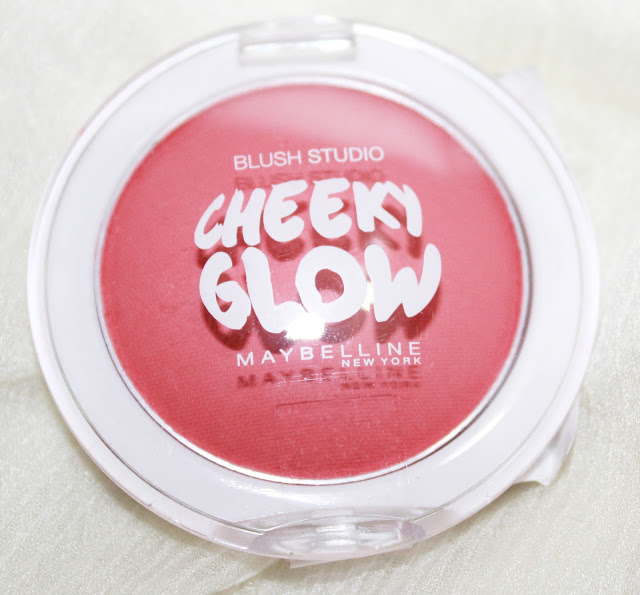 Maybelline Cheeky Glow Powder Blush Fresh Coral Review