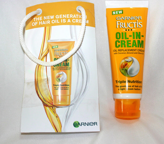 Garnier Fructis Triple Nutrition Oil-In-Cream Review