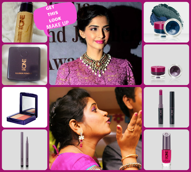 Sonam Kapoor Makeup Breakdown