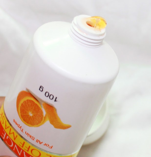 Oxyglow Orange Peel Off Mask review