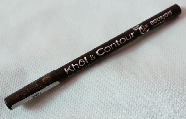 Bourjois Paris 16 hours Kohl and Contour Eye Pencil (Brun Design):  Review
