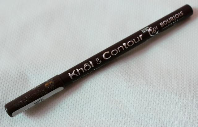 Bourjois Paris 16 hours Kohl and Contour Eye Pencil (Brun Design):  Review