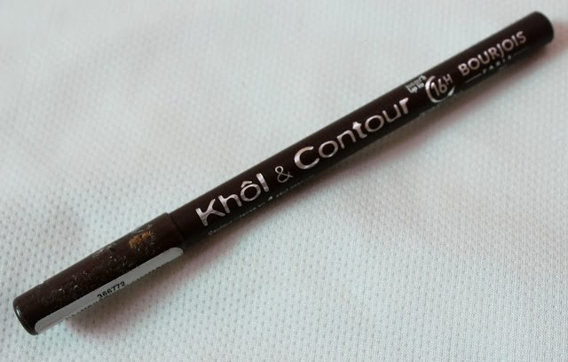 Bourjois Paris 16 hours Kohl and Contour Eye Pencil (Brun Design)  Review